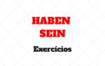 Exercícios sobre HABEN e SEIN no Perfekt: Quando usar no Alemão