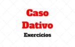 Caso Dativo Exercícios com respostas