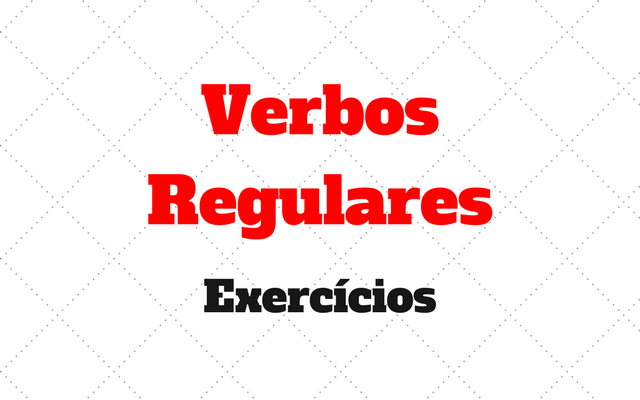 Verbos Regulares alemao