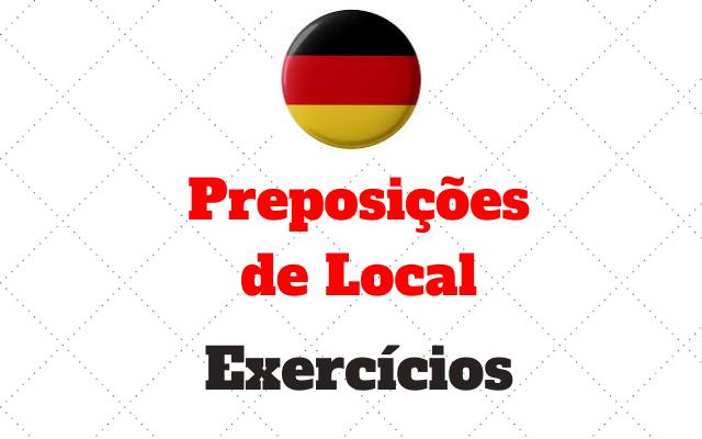 alemão preposição de local atividades