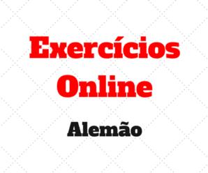 4 Exercícios Online de Alemão para Iniciantes