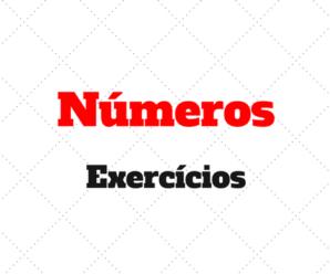 Números Exercícios Gabaritados