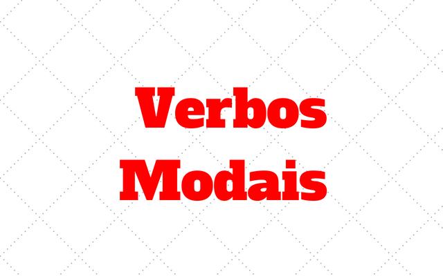verbos modais