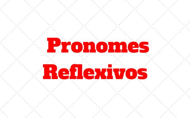 Pronomes Reflexivos alemao
