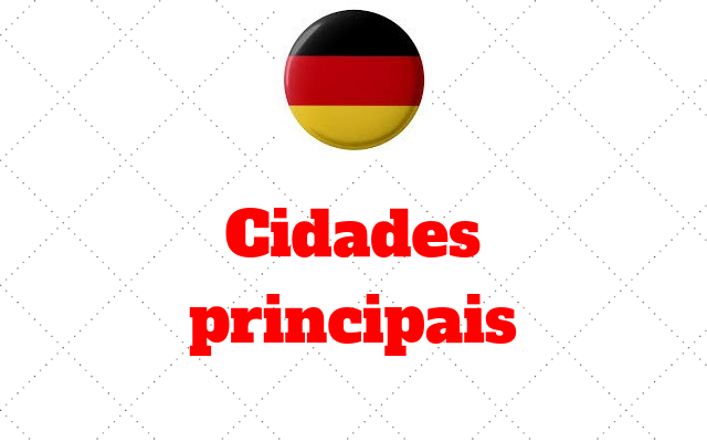 Principais cidades