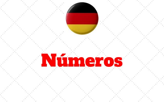 numeros alemao