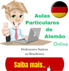 aulas particulares de alemão online